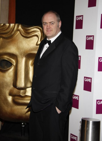 Comedian Dara O Briain arrives at the Hilton to host the Game British Academy Video Game Awards for the second year running.