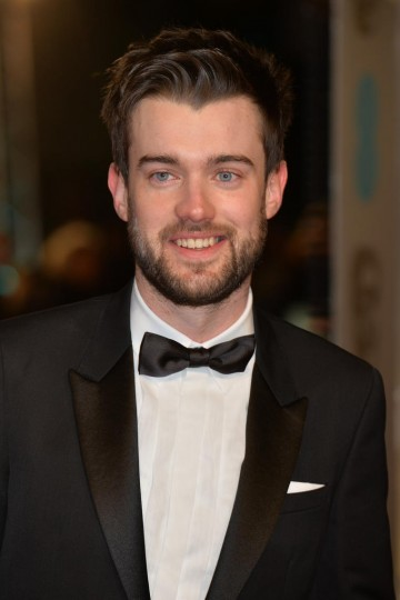 Funny man Jack Whitehall arrives on the red carpet