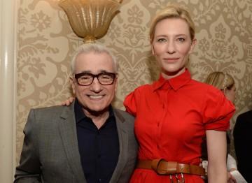 Martin Scorsese and Cate Blanchett at the BAFTA LA 2014 Awards Season Tea Party.