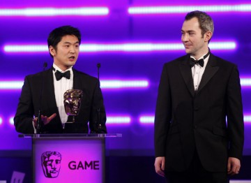 The recent XBox title, developed by British Developers Rare, based in Leicestershire, wins the Family award. (Pic: BAFTA/Brian Ritchie)
