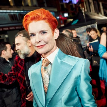 Sandy Powell, Nominee for Best Costume Design for Carol and Cinderella