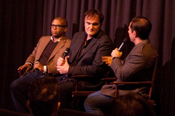 Producer Reginald Hudlin, Director Quentin Tarantino, and Moderator John Hadity