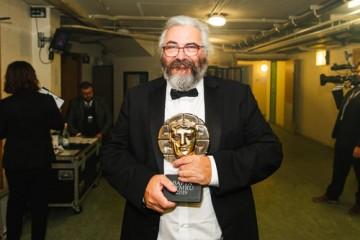 Event: British Academy Cymru AwardsDate: Sunday 13 October 2019Venue: St David's Hall, 9-11 The Hayes, Cardiff Host: Huw Stephens-Area: Backstage
