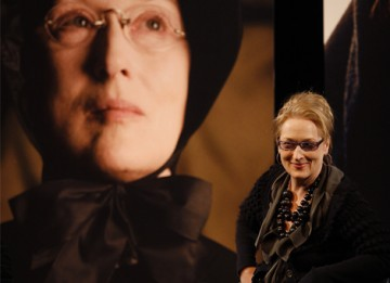 Meryl reflects on her twelfth BAFTA nomination for her role as Sister Aloysius Beauvier in John Patrick Shanley's film Doubt (BAFTA / Marc Hoberman).