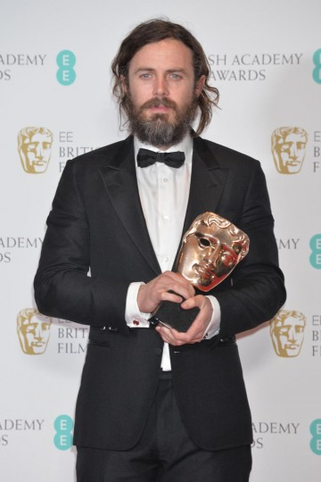 Casey Affleck, winner of the Leading Actor Award.