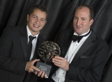 Geraint Evans (L) & Guto Harri (R)