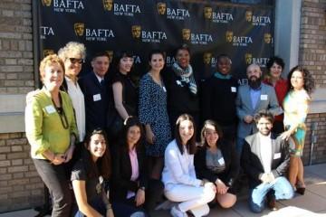 Julie La'Bassiere, Susan Margolin, Linda Kahn and Nelsa Gidney with the 2015 recipients.