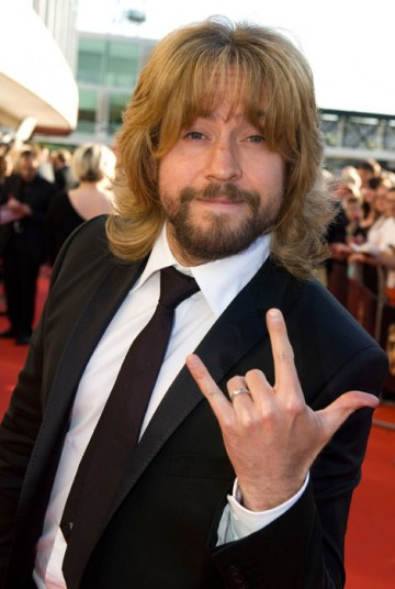 Justin Lee Collins celebrates his nomination for the Friday/Sunday Night Project in the Entertainment Programme category (BAFTA / Richard Kendal).