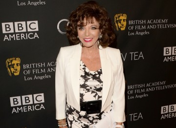 Actress Joan Collins