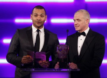 The Zone presenter and GAME Group UK's managing director reveal who the public have voted as the best game of 2010. (Pic: BAFTA/Brian Ritchie)