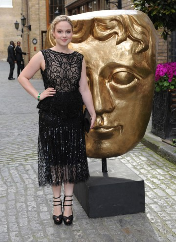 The Welsh actress whose credits include Fresh Meat, Kidnap And Ranson & Elfie Hopkins, arrives at The Brewery to present the Photography categories alongside Joe Thomas.