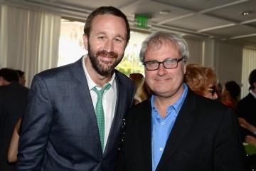 Chris O'Dowd and director Simon Curtis