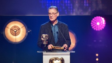 Michael Palin presents the BAFTA for Comedy at the British Academy Children's Awards in 2015