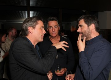 Julian Stone, Faber Dewar and Kieran Evans