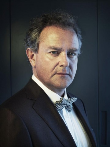 "Hugh Bonneville photographed for ""Drama Ties"", a photographic essay printed in the 2011 Television Awards programme."
