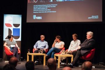 Carolynne Sinclair Kidd, Angus Lamont, Lou McLoughlan, John MacLean & Iain Smith OBE