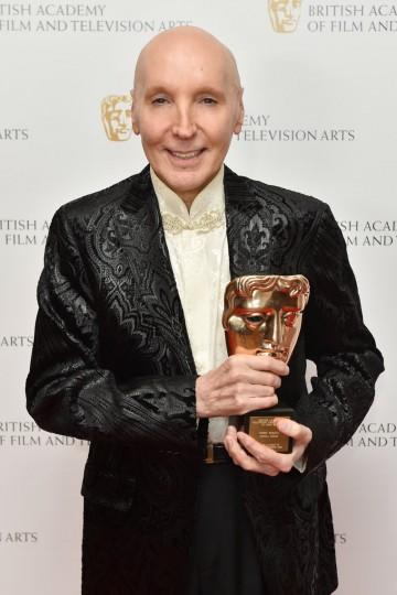 Special Award recipient Bobby Warans