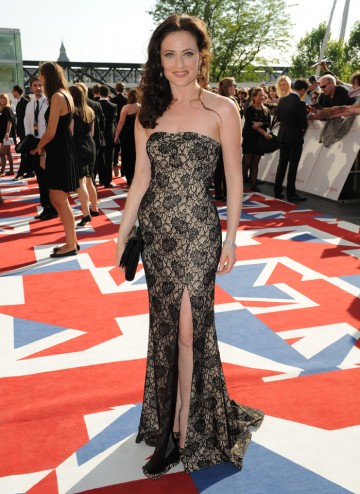 The Brit actress who starred as Irene Adler in the A Scandal in Belgravia episode of Sherlock, which is up for the YouTube Audience Award.