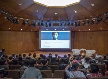Eddie Redmayne's masterclass at the Hong Kong Academy for Performing Arts