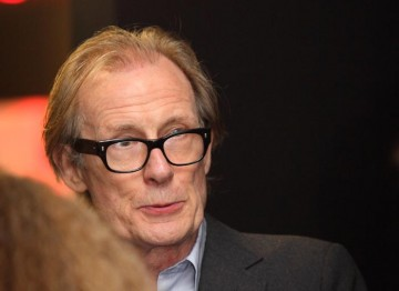 Actor Bill Nighy joins guest after the Screenwriters' Lecture with Sir David Hare. (Photography: Jay Brooks)