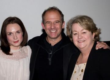 Kerry Condon, Director Michael Hoffman and BAFTA New York CEO Christina Thomas