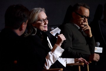 Luke Parker Bowles, Meryl Streep, Tom Hanks