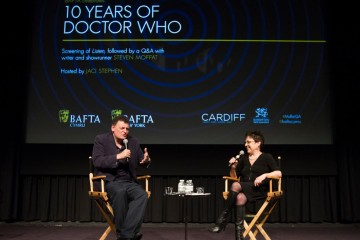 in New York featuring Steven Moffat and moderated by Jaci Stephens sponsored by Cardiff Business Council and Welsh Government/Visit Wales