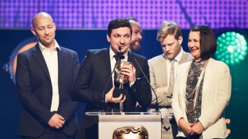The Amazing World of Gumball collects the BAFTA for Animation at the British Academy Children's Awards in 2015