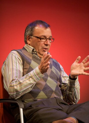 Maurice Gran, BAFTA award-winning writer of Goodnight Sweetheart (Image: BAFTA).