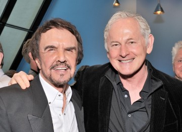 Dave Clark and Victor Garber.