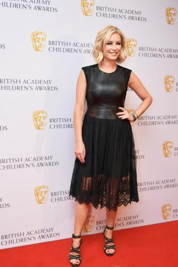 Denise Van Outen at the BAFTA Children's Awards 2015 at the Roundhouse on 22 November 2015