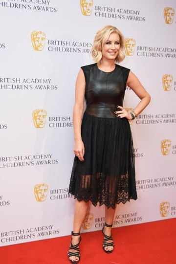 Denise Van Outen at the BAFTA Children's Awards 2015 at the Roundhouse on 22 November 2015