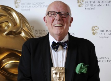 Richard Wilson received the BAFTA in Scotland Award for Outstanding Contribution to Film and Television.