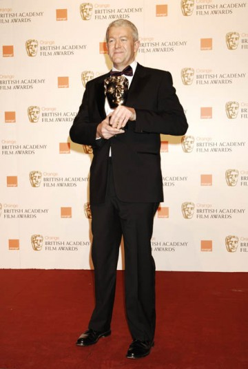 Ivan Dunleavy took the prize for Outstanding British Contribution to Cinema on behalf of Pinewood and Shepperton Studios (BAFTA/ Richard Kendal).