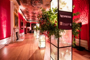 The King's Gallery at the BAFTA Nespresso Nominees' Party