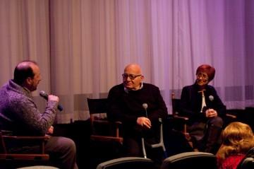 Moderator Steve Messere, Director Ben Lewin and Producer Judi Levine