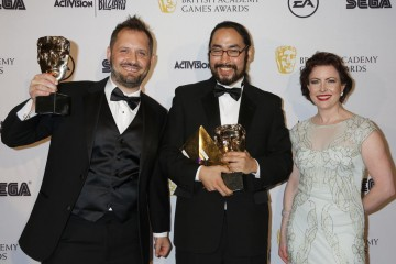 The BAFTA for Debut Game was presented by UKIE CEO Jo Twist to Never Alone (Kisima Ingitchuna).