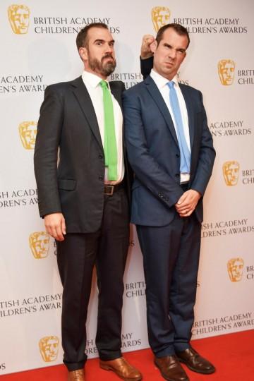 Dr Chris Van Tulleken, Dr Xander Van Tulleken at the BAFTA Children's Awards 2015 at the Roundhouse on 22 November 2015
