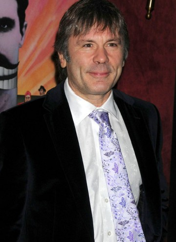 Bruce Dickinson attends the BAFTA Monty Python Reunion Event in New York on 15 October 2009 (© BAFTA)