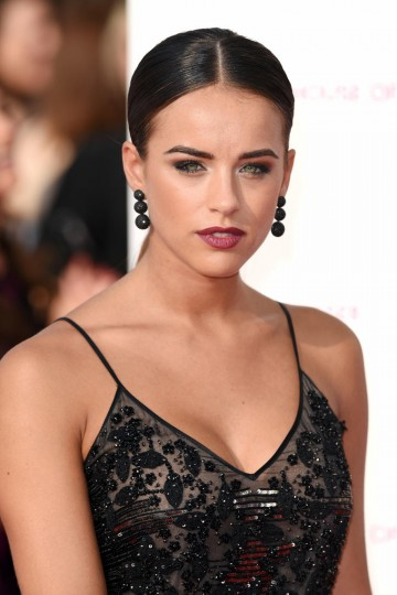 Georgia May Foote poses for the camera