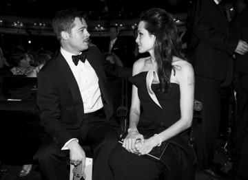 Brad Pitt and Angelina Jolie at the 2009 Film Awards