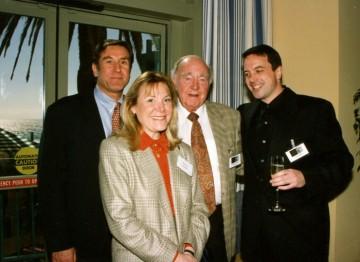 Donald Haber, Donna Neame, Ronald Neame and J. Alan Davies.