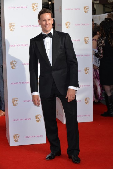 Strictly star Brendan Cole looking sharp on the red carpet