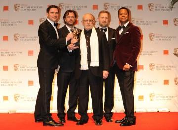 David Vickery, Tim Burke, John Richardson, Greg Butler and Cuba Gooding Jr.