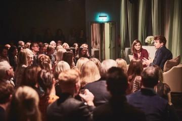 Academy Circle with Jenna Coleman, Burberry, Makers House, 1 Manette Street, London, September 2016 (Photo credit: BAFTA/Jonathan Birch)
