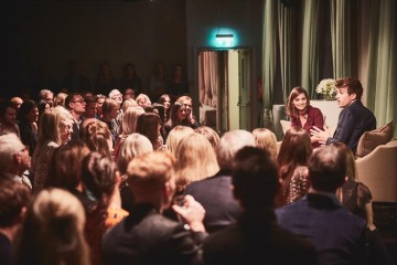 Academy Circle with Jenna Coleman, Burberry, Makers House, 1 Manette Street, London, September 2016 (Photo credit: BAFTA/Jonathan Birch)