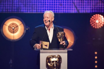 Keith Chegwin presents the BAFTA for Independent Production Company at the British Academy Children's Awards in 2015