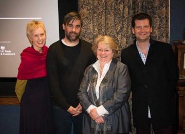 Salette Gressett, Kieran Evans, Christina Thomas and Luke Parker Bowles
