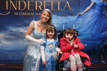 Event: BAFTA Children's Hospice Screening of Cinderella, courtesy of Disney Pictures, for the famililes of Northern Ireland Children's Hospice. In association with Cinemagic.Date: 29 March 2015Venue: ODEON Belfast