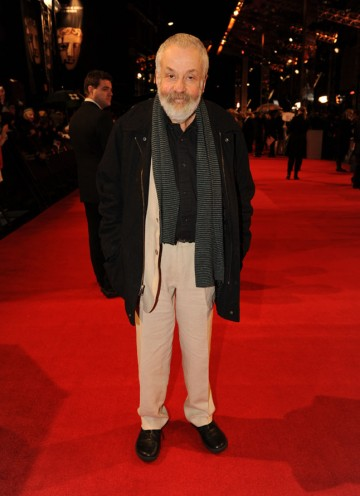 Mike Leigh, writer and director of Another Year, nominated for Outstanding British Film. (Pic: BAFTA/Richard Kendal)